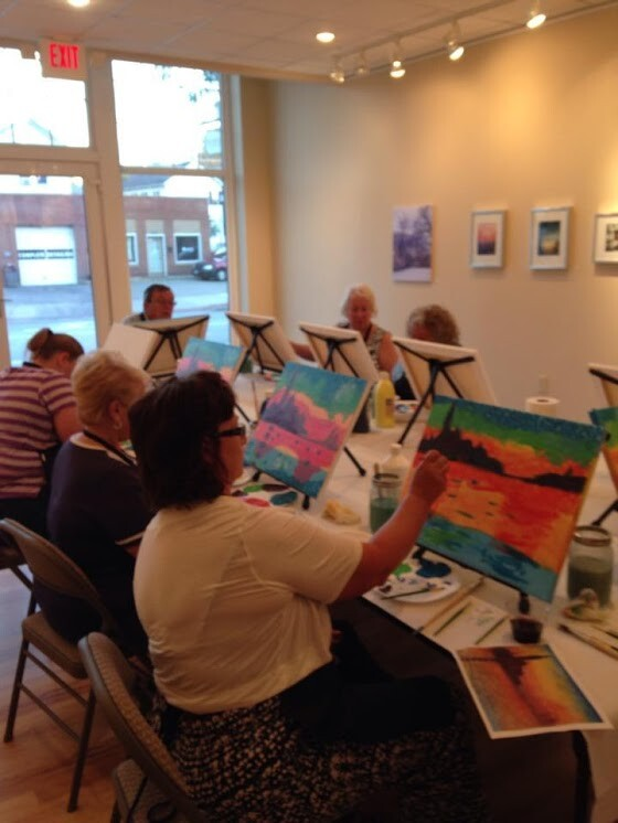 gallery wine art cheese class sharonville cultural